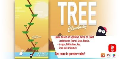 Tree Climbing - iOS Source Code