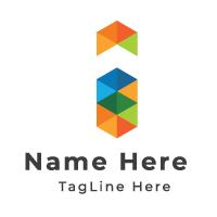 I Letter Logo Design Template