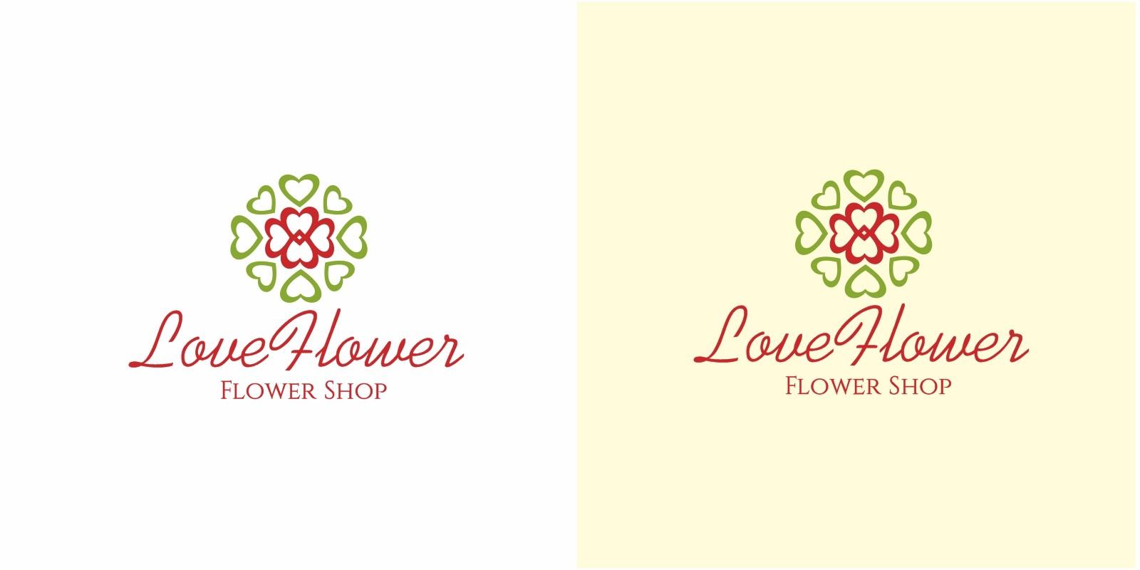 Love Flower Logo
