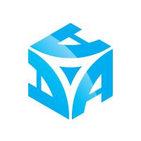 Active Cube - Letter A Hexagon Logo