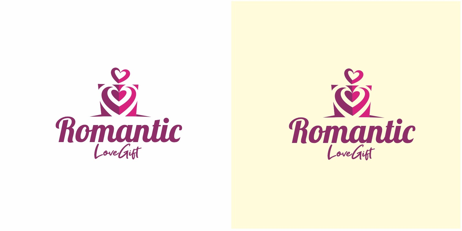 Romantic Gift Logo