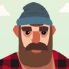 lumberjack-spine-2d-flat-art-character