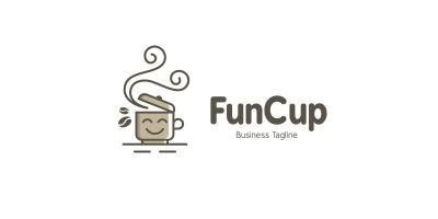 Fun Coffee Logo Template