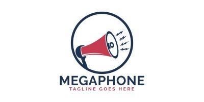 Megaphone Logo Design