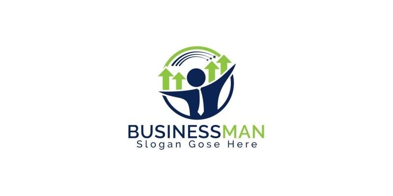 Businessman Logo Design