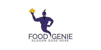 Food Genie Logo Design