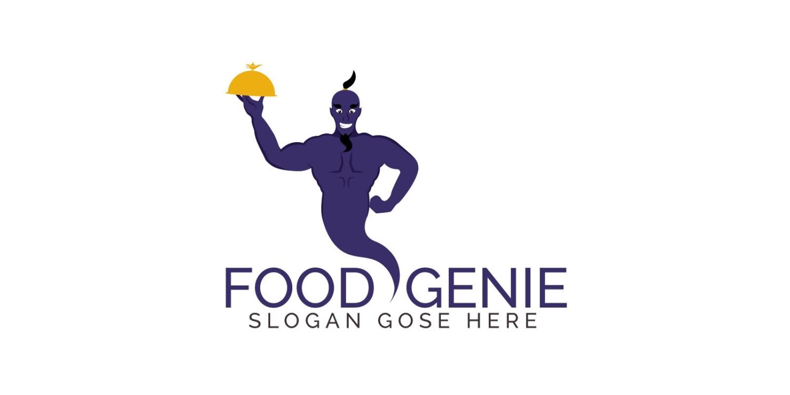 Food Genie Logo Design