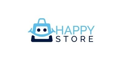 Happy Store Logo Design