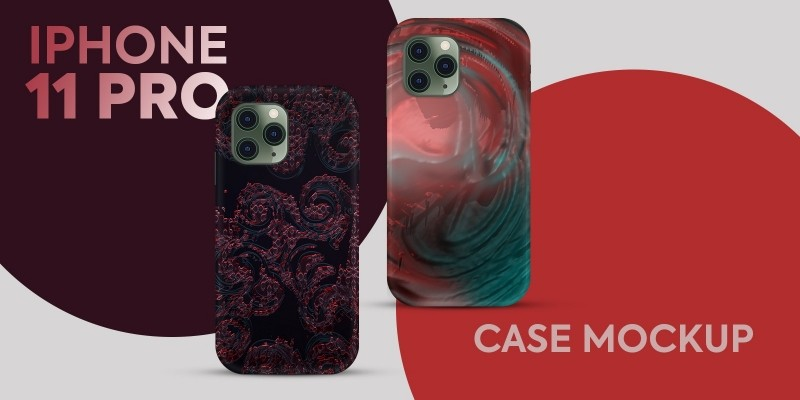 iPhone 11 Pro Case Mockup