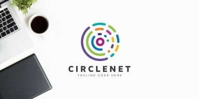 Circle Colorful Logo