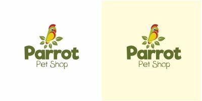 Parrot Pet Logo