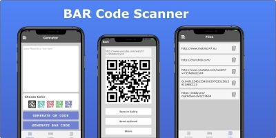 BAR Code Scanner - iOS Source Code