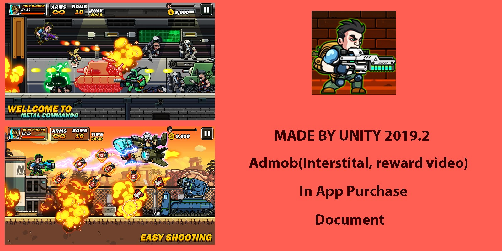 Metal Shooter Slug - Unity Project