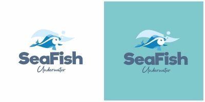 Sea Fish Logo