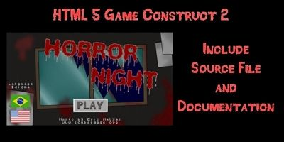 Horror Night - Game Template Construct 2