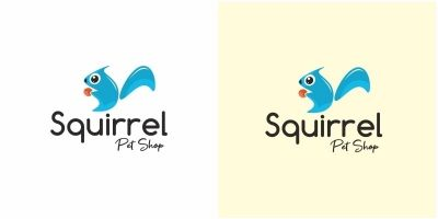 Squirrel Logo