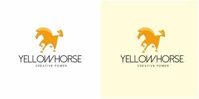 Yellow Horse Logo