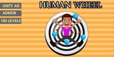 Human Wheel - Complete Unity Source Code