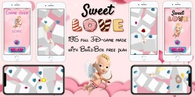 Sweet Love - BuildBox 3D Game