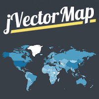 jVectorMap - Interactive Vector Maps