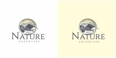 Eagle Nature Logo