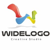 Wide Letter W Logo