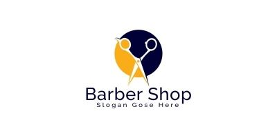 Barber Shop Logo Design.