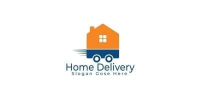 Home Delivery Logo Design.