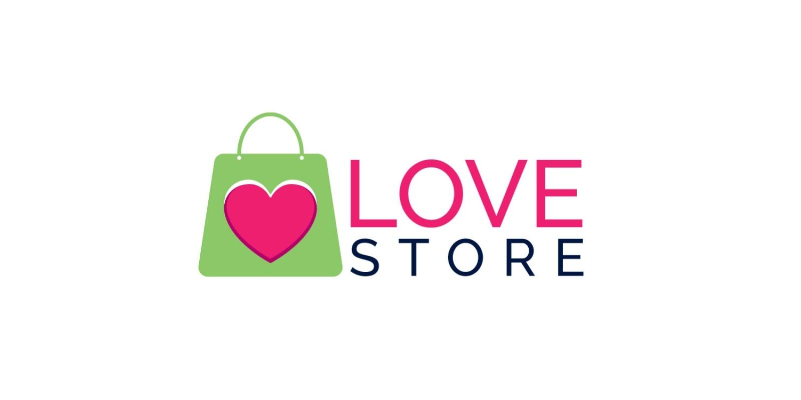 Love Store Logo Design