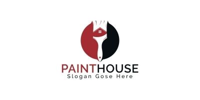 Paint House Logo Design