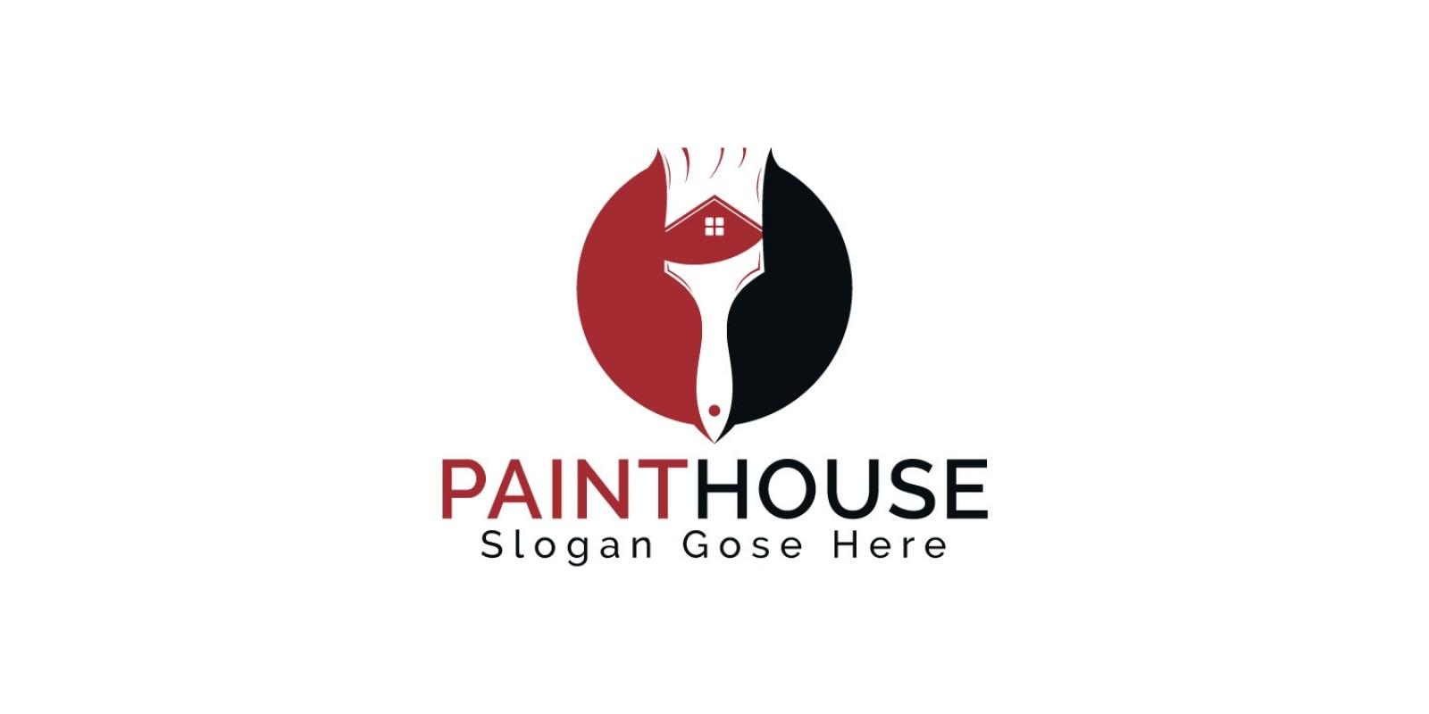Paint House Logo Design
