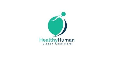 Healthy Human Logo Design