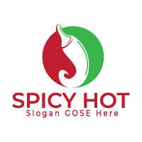Spicy Hot Logo Design