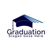 Graduation Cap Logo Design