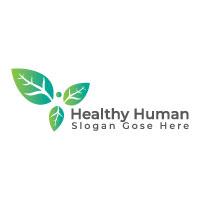 Healthy Human Logo Design