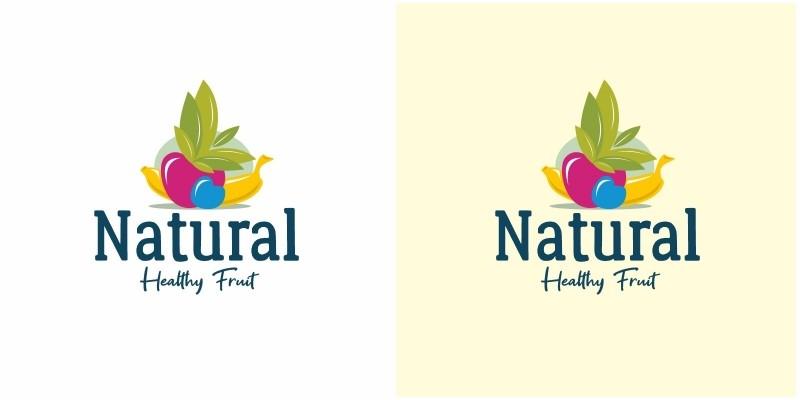 Natural Fruit Logo