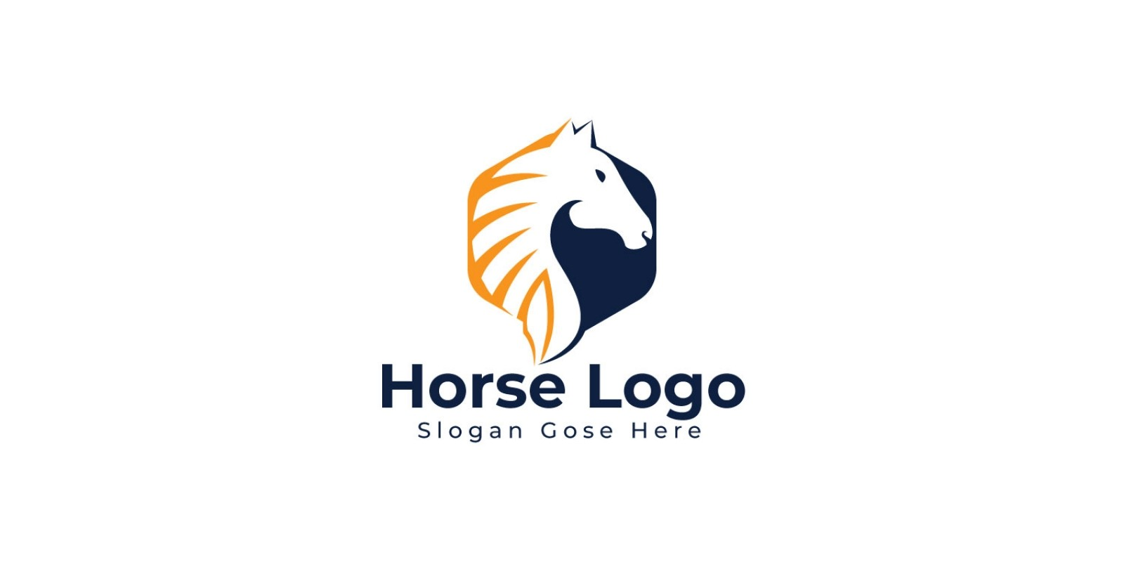 Horse Logo Design By Ikalvi Codester
