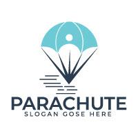 Parachute Logo Design