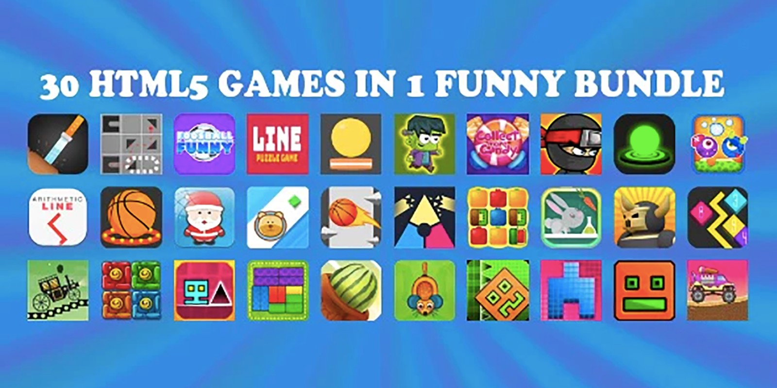 30 HTML5 Games Construct 2