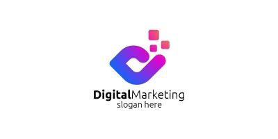 Digital Marketing Financial Advisor Logo Design