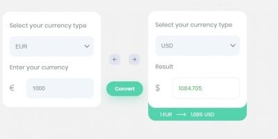 Currencly - Flat Responsive Currency jQuery Plugin