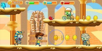 Escape From Egypt Platformer Game Assets