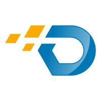 Letter D For Digital Marketing Financial Logo