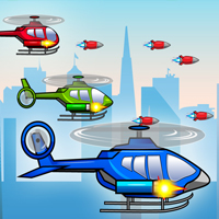 Helicopters Game Character Sprites