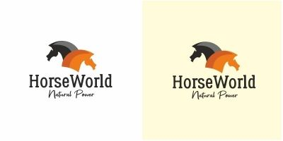 Horse World Logo