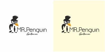 Mr Penguin Logo