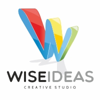 Wise Ideas W Letter Logo