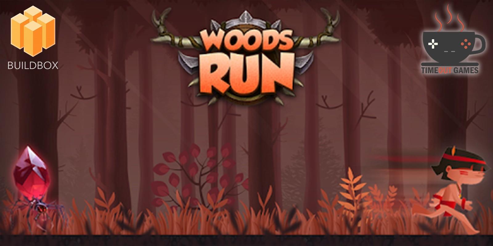 Woods Run - Full Buildbox Game