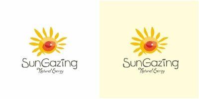 Sun Gazing Logo