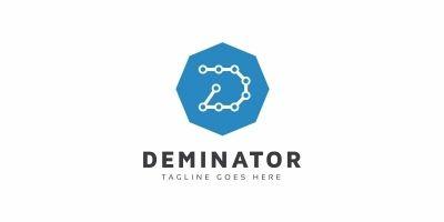 Deminator D Letter Logo